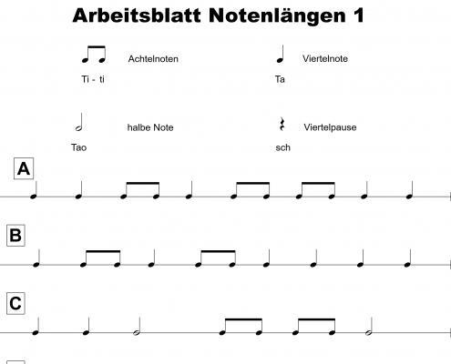 Bläserklassen mit Rhythmus